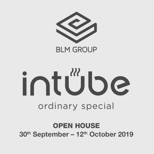 INTUBE 2019 ☕️ Ordinary Special ☕️<br> OPEN HOUSE 30 settembre – 12 ottobre 2019<br> <br> Scorpi di più! http://bit.ly/30xgrZ2<br> <br> Hashtag ufficiali: #blmgroup #intube