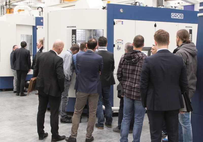 First GROB in-house exhibition comes to a successful close