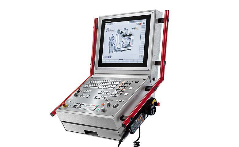 Interfaz Navigator en un control TNC 640 de Heidenhain