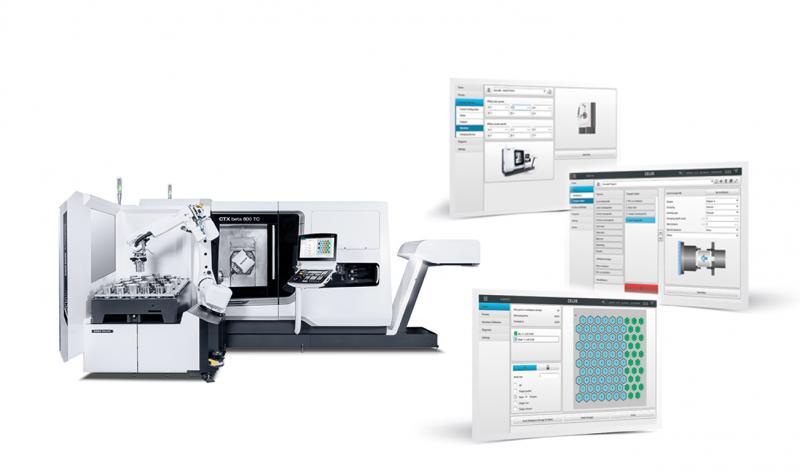 In Winterthur präsentiert DMG MORI gleich fünf Automationslösungen in den Bereichen Drehen und Fräsen, darunter auch der Robo2Go 2nd Generation.