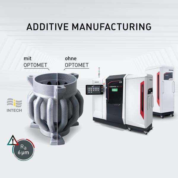 OPTOMET erleichtert die Programmierung und führt zu deutlich verbesserten Oberflächenqualitäten und reproduzierbaren Werkstoffeigenschaften.
