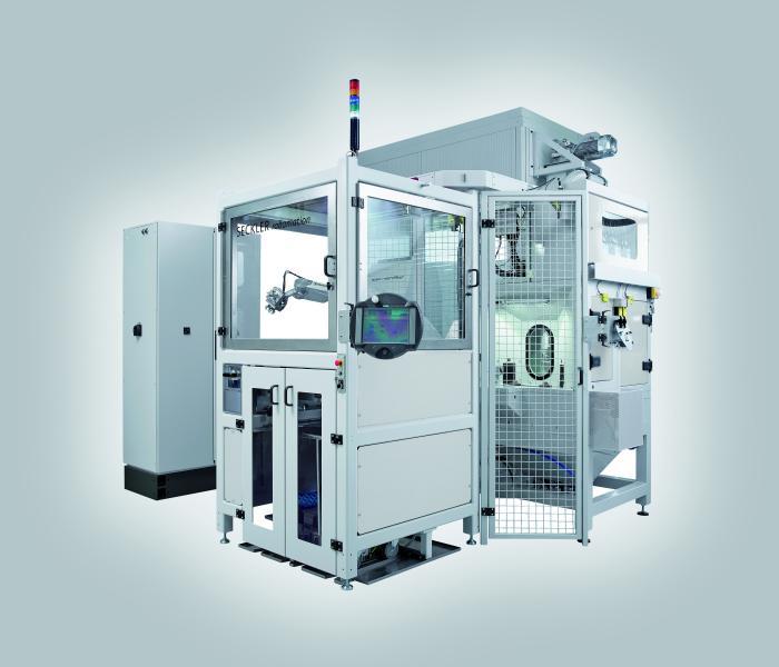 Flexibler Microsandstrahlautomat – SECKLER sandero. Die flexible Microsandstrahlanlage für Ihre Teile.