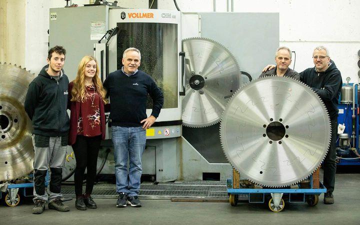 Italian saw blade manufacturer puts its trust in VOLLMER