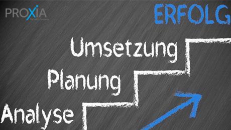 PROXIA MES-Consulting - Prozessoptimierung mit der OEE-Methode - Prozessberatung mit Umsetzungskompetenz