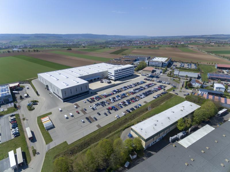 Größtes Teilprojekt: Am Kompetenzzentrum für Greifsysteme in Brackenheim-Hausen investiert SCHUNK fast 40 Millionen Euro. Vor allem der Bereich Mechatronik soll hier gestärkt werden. Bild: SCHUNK