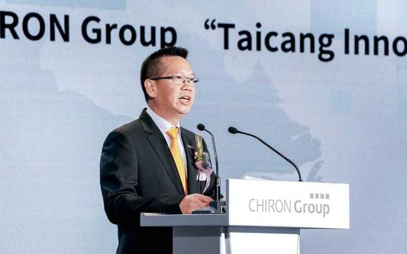 Jiaping Ren, CEO von CHIRON China, freut sich die speziellen Anforderungen der chinesischen Kunden zukünftig noch besser erfüllen zu können.