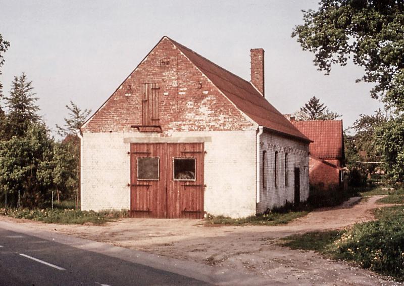 Die alte Schmiede in Bleckede im Jahre 1969 – Gründungsgebäude des Unternehmens.