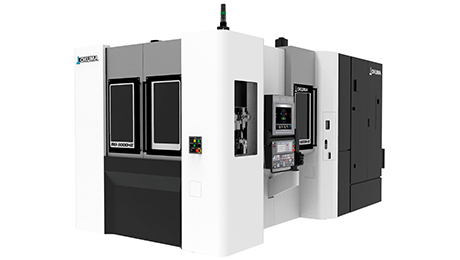 Okuma has launched the MB-5000HⅡ a horizontal machining center, which offers innovative productivity for global market applications ranging from mass production of automobile parts to semiconductor equipment components, construction machine parts, hydraulic parts, and other manufacturing sectors. Along with the long, continuous operation made possible by Okuma's trademark high reliability, mass produced parts and small-/mid-sized parts can be machined at the highest level of productivity.