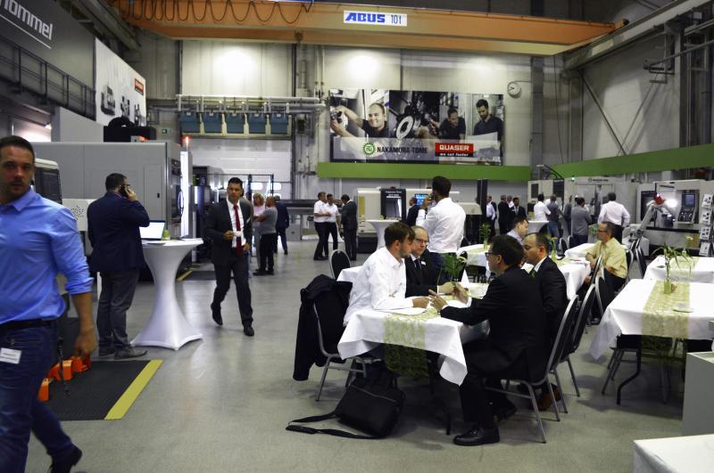 """Gemeinsam mit Automationspartnern lud die Hommel Unverzagt GmbH (HUV) am 06. Juni 2019 zum """"Tag der Automation"""" nach Ingelheim ein."""