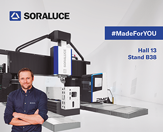 Soraluce will demonstrate its customer-focus mindset, while showcasing the most attractive, complete and leading portfolio of machining solutions and access to convenient, user-friendly services during EMO 2019 (Hall 13 Stand B38), #MadeForYOU.