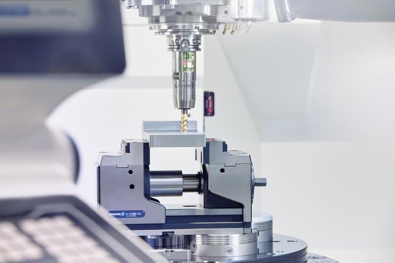 Werkzeughalter der Zukunft: Der smarte iTENDO ermöglicht eine Echtzeitprozessüberwachung und -regelung unmittelbar am Werkzeug. Bild: SCHUNK