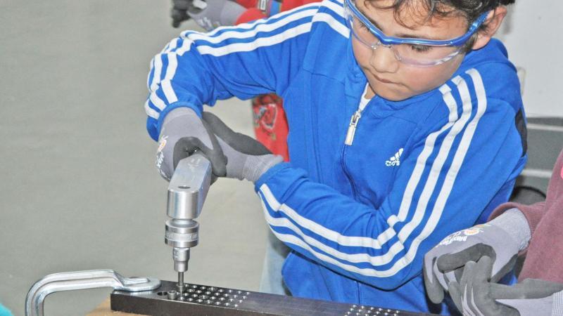 Kinderleicht eine Maschine bauen