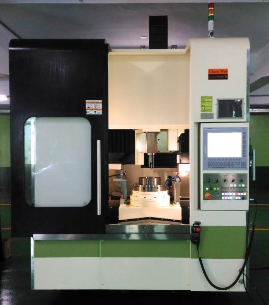 Die neue Verzahnungsschleifmaschine von Chien Wei basierend auf der neuesten Generation des Flexium+ 68 CNC-Systems von NUM.