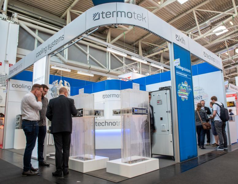 Messestand auf der Laser World of Photonics 2019 in München