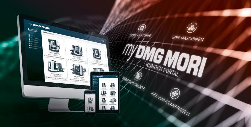 my DMG MORI: Einzigartiges Kundenportal für mehr Transparenz, Qualität und Geschwindigkeit in allen Serviceprozessen