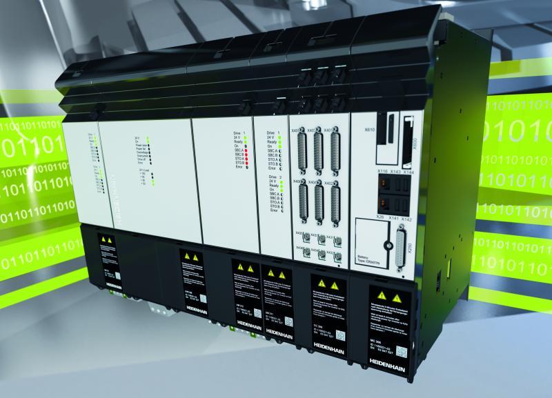 Steuerungstechnik, die intelligent bewegt: Die neue HEIDENHAIN-Antriebsgeneration GEN 3 bietet maximale Performance durch innovative Übertragungstechnik und leistungsfähige Diagnose.