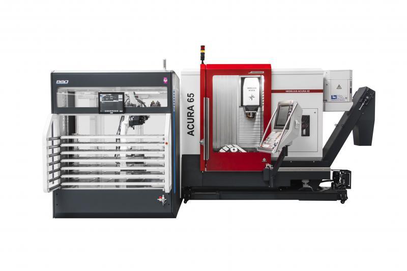 ACURA 65 EL mit angebundener Automation Platinum 50 von BMO.