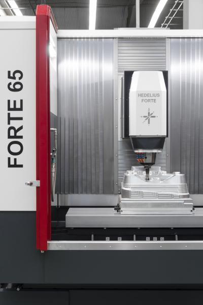 Die Forte 65 Single 1620 ist auf eine präzise und leistungsstarke 3-Achs-Bearbeitung ausgelegt.