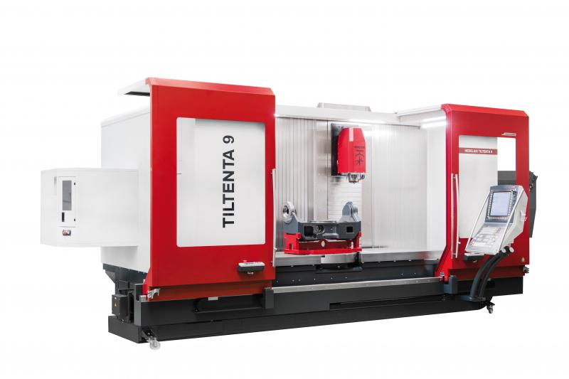Die Tiltenta 9-2600 von HEDELIUS ist ein äußerst flexibles Bearbeitungszentrum für die Langteilbear-beitung, genauso wie für die Fertigung von kubischen 5-Achs-Bauteilen.