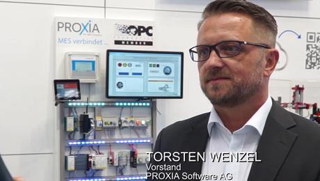 """Award für die innovativsten Mittelständler Deutschlands - Im unabhängigen Auswahlverfahren des Innovationswettbewerbs TOP 100 überzeugte PROXIA besonders in der Kategorie """"Außenorientierung / Open Innovation""""."""