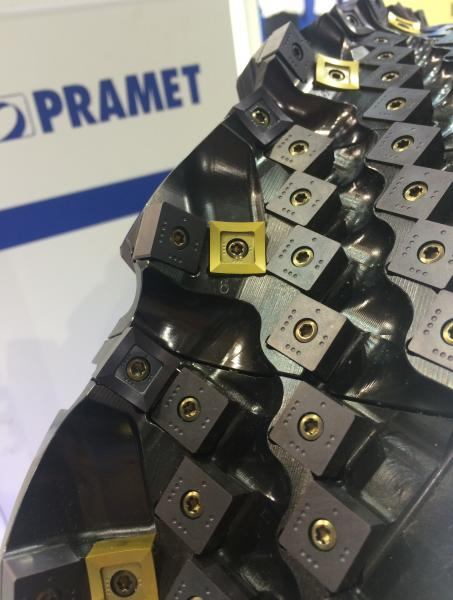 Dormer Pramet's large 600mm diameter dynamic rail milling cutter will be on display at EMO.