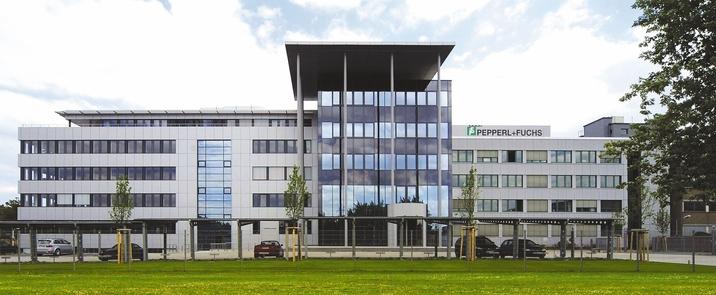 Der Pepperl+Fuchs Stammsitz in Mannheim