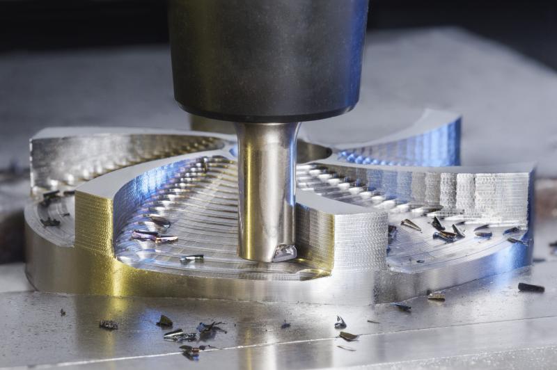 NAN FEED-Hochvorschubfräser für den Durchmesserbereich 8 - 10 Millimeter (Zeff. 2 – 3).