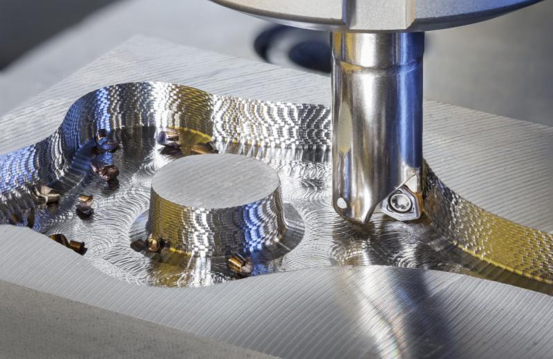 MICRO 3 FEED-Hochvorschubfräser für den Durchmesserbereich 10 – 16 Millimeter (Zeff. 2 – 4).