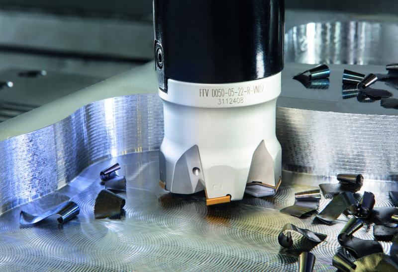 Der tangentiale TANG 4 FEED-Fräser wurde speziell für die Bearbeitung von Taschen und Kavitäten im Werkzeug- und Formenbau entwickelt.