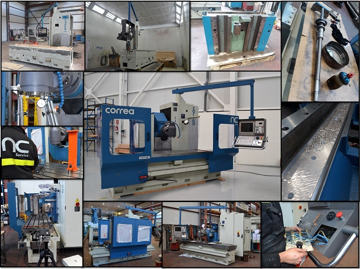 A newly founded company in Spain selects a milling machine retrofitted by Nicolás Correa Service