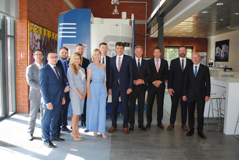 Neues Technologie- und Anwendungszentrum in Posen eröffnet