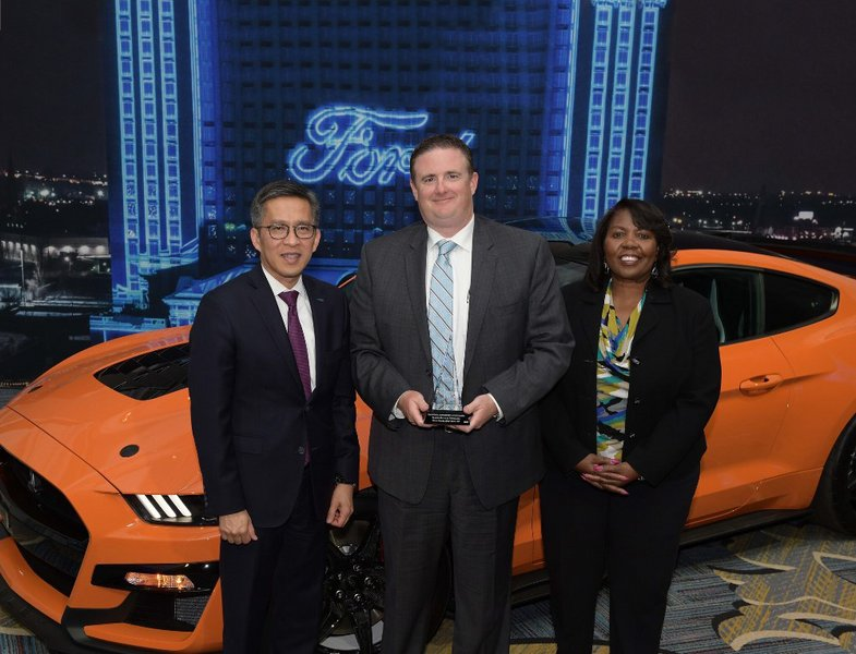 GROB awarded with ABF Supplier Award by FORD