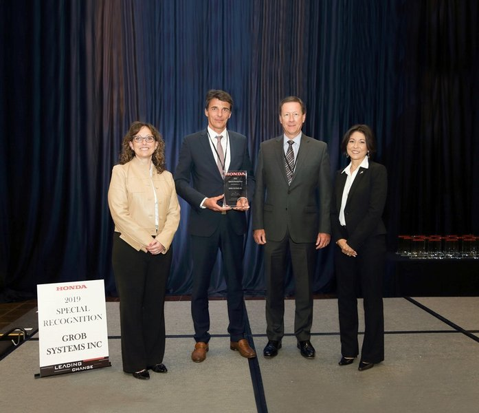 First HONDA Special Recognition Award for GROB