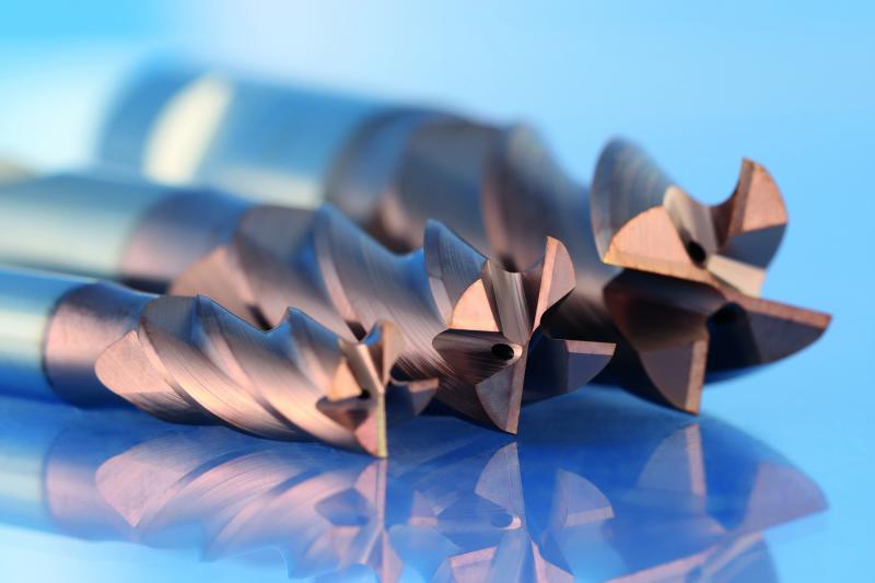 Vollhartmetallfräser zur Hochleistungszerspanung