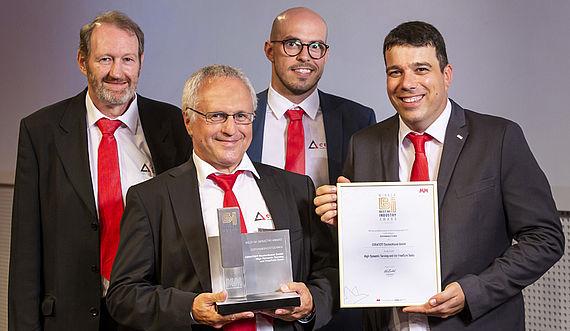Einmal im Jahr werden die Besten der Besten in der Industrie mit dem Best of Industry Award des renommierten Fachmagazins MM MaschinenMarkt ausgezeichnet. In diesem Jahr wurde CERATIZIT für die revolutionäre Drehtechnologie High Dynamic Turning und die FreeTurn-Tools mit dem bedeutenden Industriepreis gekürt.