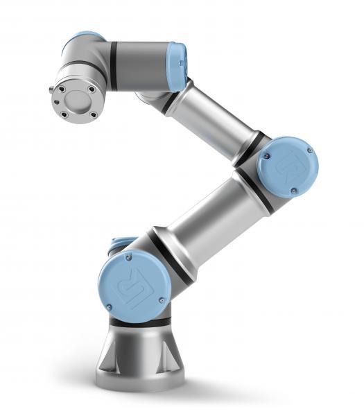 Der UR10e CB5 wurde als universell einsetzbare Handlingunterstützung zur Automation von Werkzeugmaschinen konzipiert.