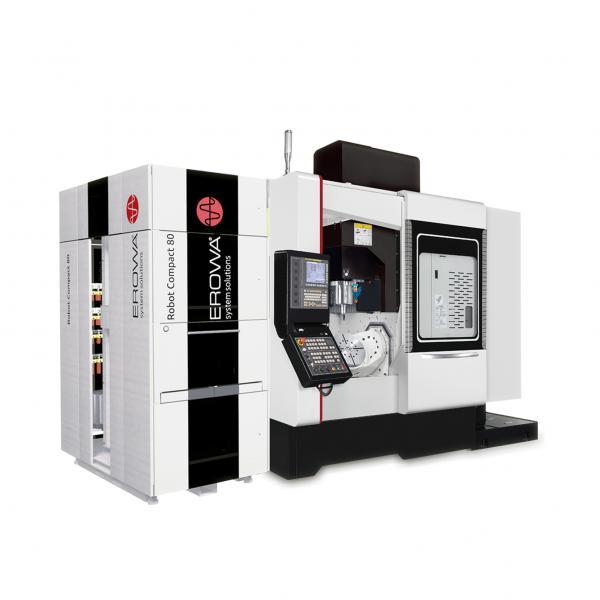 """Exklusiv zur EMO bietet Quaser die UX 500 mit Palettenautomation im """"EMO Promotion Package"""" inklusive einem umfangreichen Werkzeug- und Werkstückmesssystem und vielem mehr zu einem unschlagbaren Preis an."""