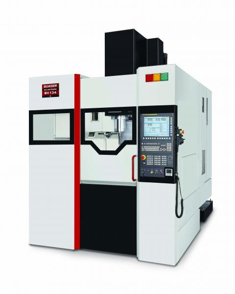 Außerdem stellt Quaser das vertikale Bearbeitungszentrum MV 134 aus, welches sich perfekt für anspruchsvolle Fertigungsaufgaben im Werkzeug- und Formenbau sowie bei der 3D- und Hartbearbeitung eignet.