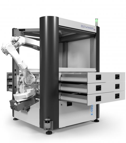 ZELTWANGER X-CELL WB – die intelligentere Art der Werkzeugmaschinenbeladung
