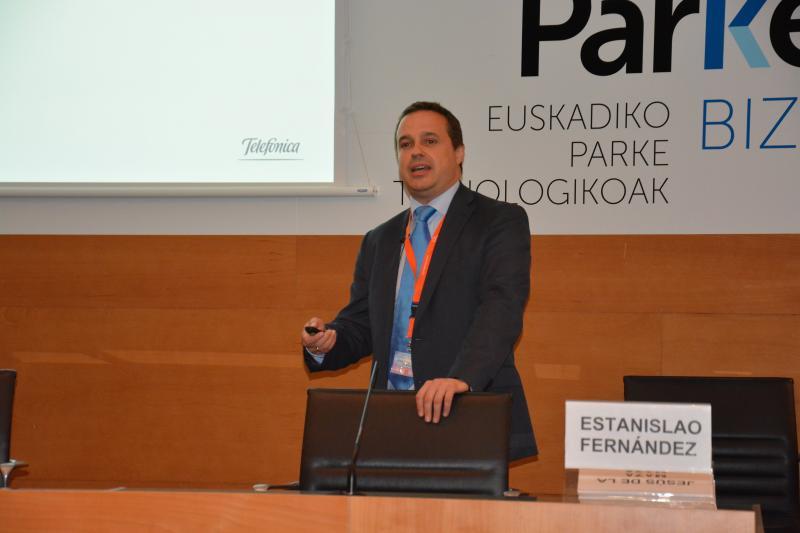 Estanislao Fernández, Telefonica's R&D Manager