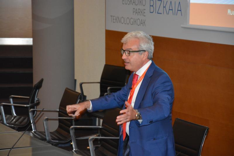 Toni Ventura, CEO de Datapixel, presentando Innovalia Metrology