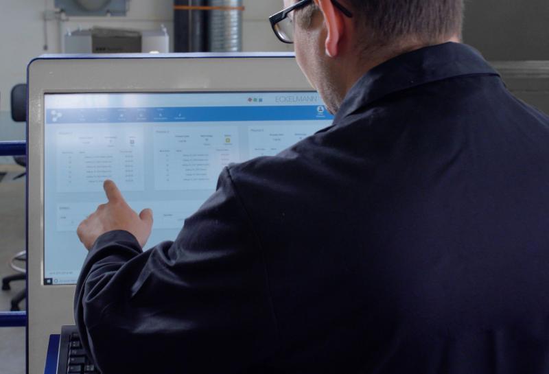 Machine Management System von Eckelmann für die intelligente Digitalisierung des Shopfloors