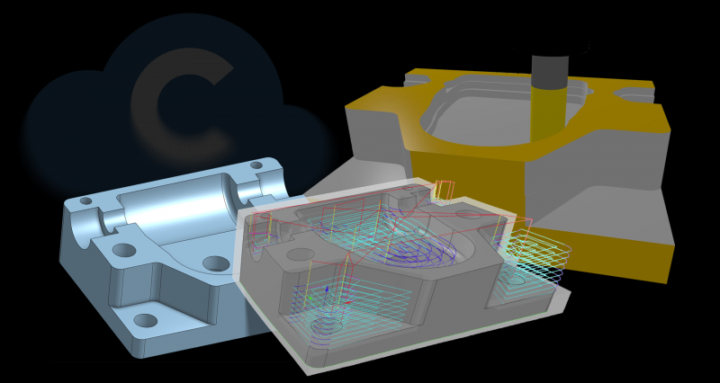 VisualCAMc for Onshape incorporates MachineWorks' cloud-based libraries, VisualCAMc provides the functionality of MecSoft's desktop-based VisualCAM running on the cloud on any internet-connected device that supports standard web browsers.