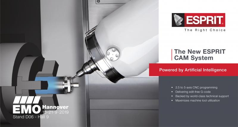 DP Technology to Unveil New Artificial Intelligence-Based CAM System at EMO Hannover