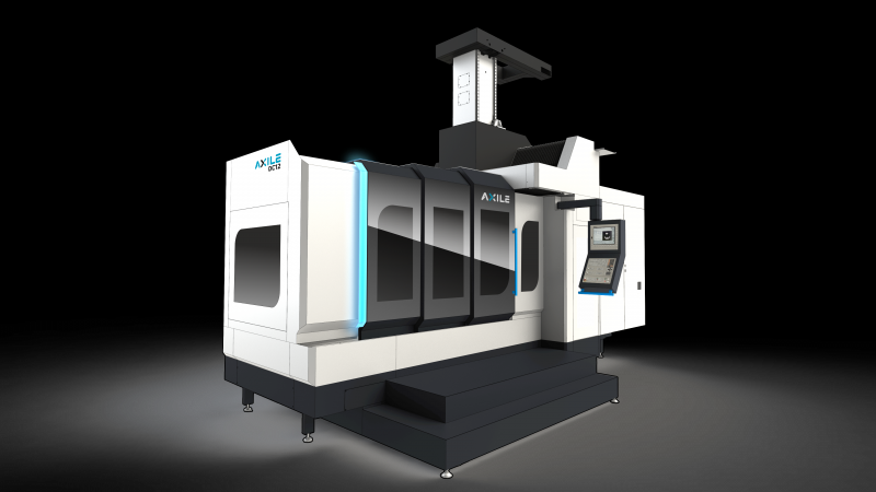 AXILE DC12 - Rigid heavy cutting double column 5-axis vertical machining center