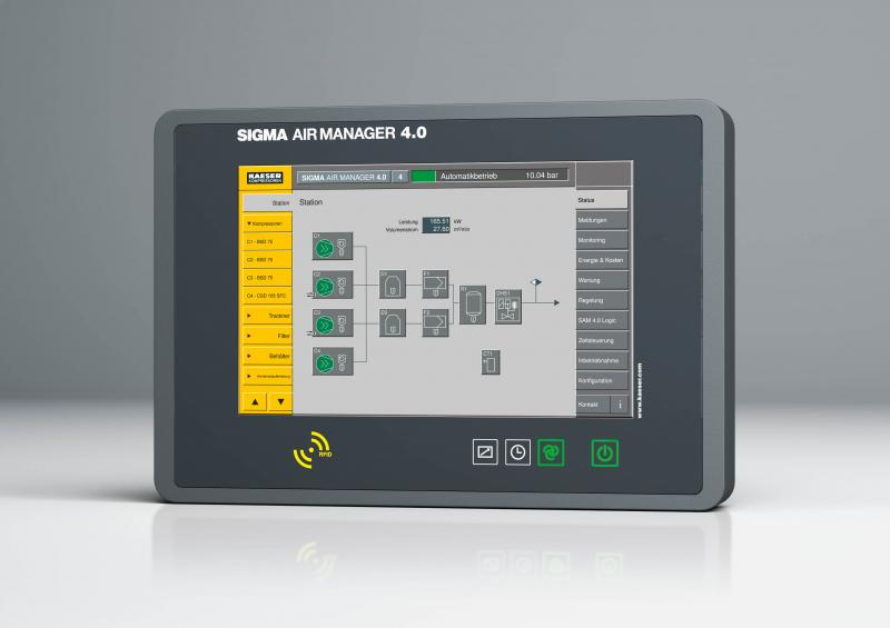 The Sigma Air Manager 4.0 provides the foundation for the new Sigma Smart Air service capability.