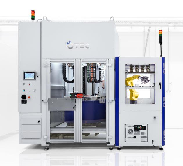 SF 3 RLS – Streamfinishmaschine mit automatischer Beladung