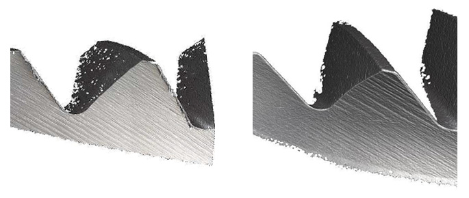 Oberflächenbearbeitung bei Gewindewerkzeugen