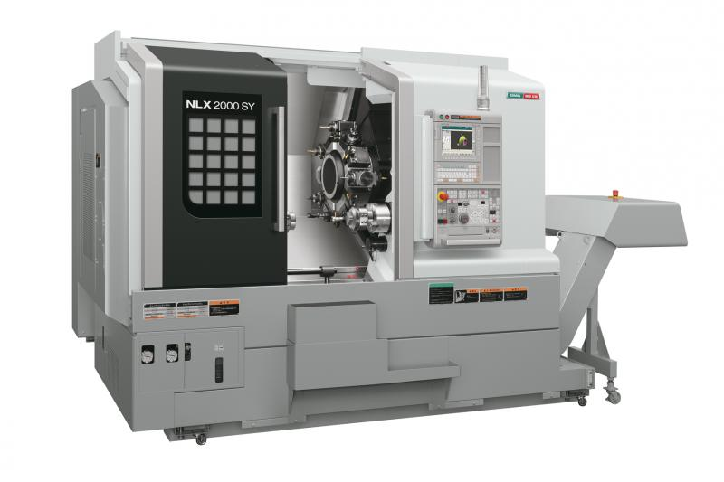 Turning with precision and flexibility - NLX universal lathe series