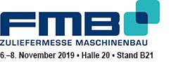 """OPEN MIND Technologies AG stellt vom 6. bis 8. November 2019 auf der """"FMB – Zuliefermesse Maschinenbau"""" in Salzuflen aus. Am Stand B21 in Halle 20 präsentiert OPEN MIND Version 2019.2 der CAD/CAM-Suite hyperMILL® und gibt erste Einblicke in die Erweiterungen, die mit Version 2020.1 kommen. Darüber hinaus werden weitere innovative Strategien aus dem Performance-Paket hyperMILL® MAXX Machining vorgestellt."""